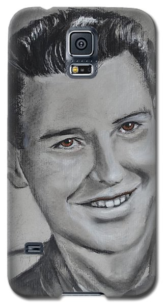 Galaxy S5 Case featuring the drawing Duane 'red' Loban by Eric Dee