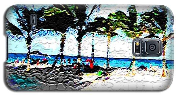 Hollywood Beach Fla Digital Galaxy S5 Case by Dick Sauer