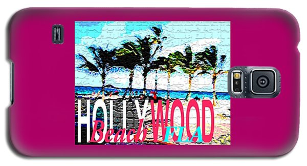 Hollywood Beach Fla Poster Galaxy S5 Case