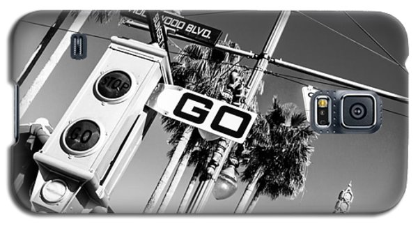 Hollywood Blvd Bw Galaxy S5 Case
