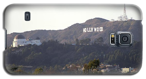 Hollywood Hills And Griffith Observatory Galaxy S5 Case