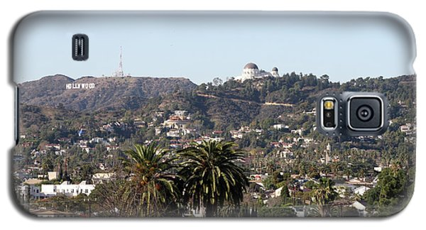 Hollywood Hills From Sunset Blvd Galaxy S5 Case