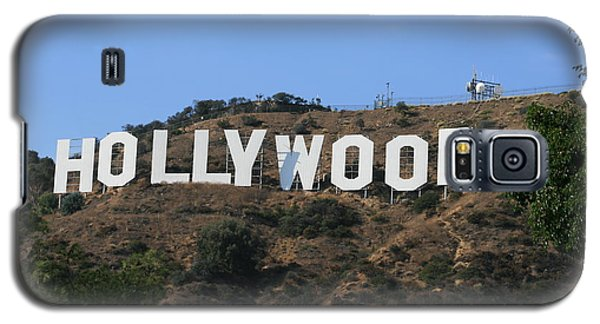Galaxy S5 Case featuring the photograph Hollywood by Marna Edwards Flavell