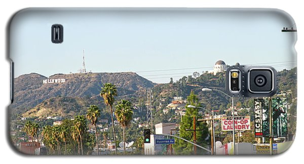 Hollywood Sign Above Sunset Blvd. Galaxy S5 Case