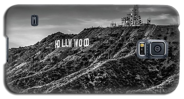 Hollywood Sign - Black And White Galaxy S5 Case