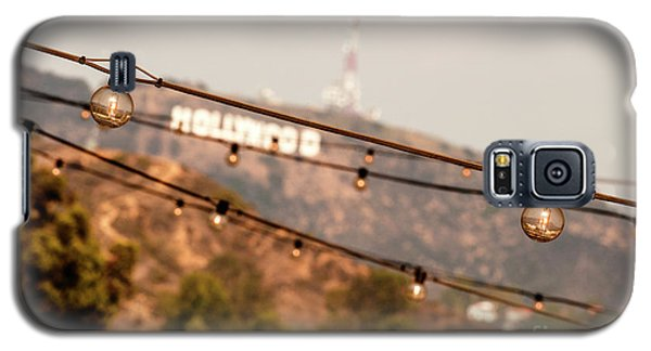 Galaxy S5 Case featuring the photograph Hollywood Sign On The Hill 2 by Micah May