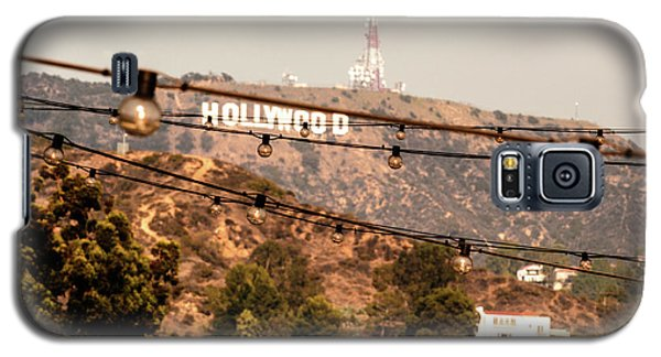 Galaxy S5 Case featuring the photograph Hollywood Sign On The Hill 3 by Micah May