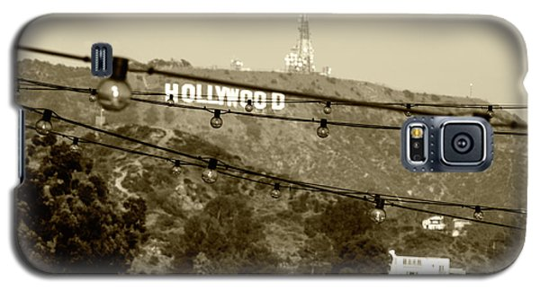 Galaxy S5 Case featuring the photograph Hollywood Sign On The Hill 4 by Micah May