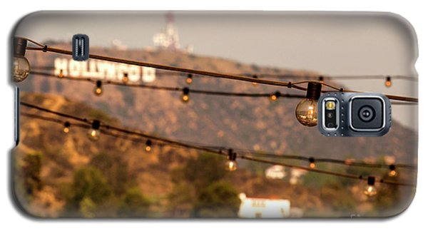 Galaxy S5 Case featuring the photograph Hollywood Sign On The Hill 5 by Micah May