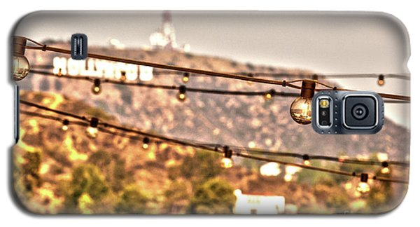 Galaxy S5 Case featuring the photograph Hollywood Sign On The Hill 6 by Micah May