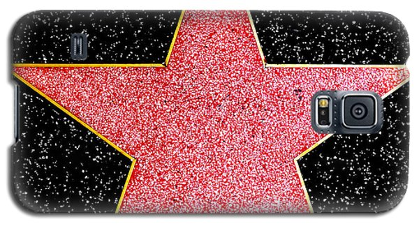 Hollywood Walk Of Fame Star Galaxy S5 Case