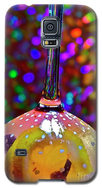 Galaxy S5 Case featuring the photograph Holographic Fruit Drop by Xn Tyler