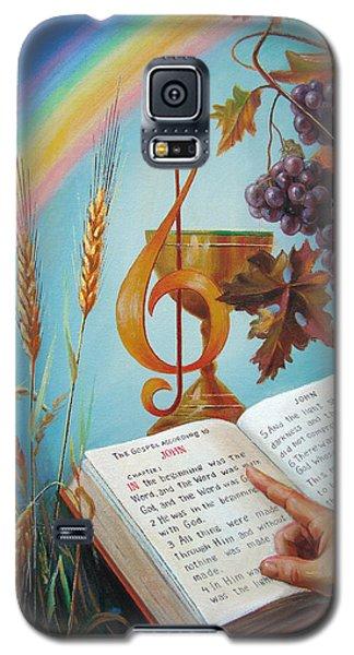 Holy Bible - The Gospel According To John Galaxy S5 Case by Svitozar Nenyuk