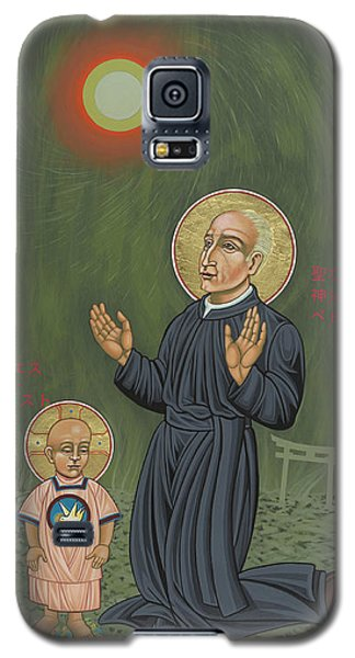 Holy Father Pedro Arrupe, Sj In Hiroshima With The Christ Child 293 Galaxy S5 Case