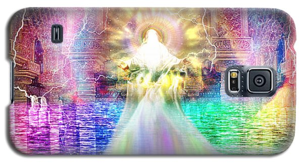 Galaxy S5 Case featuring the digital art Holy Holy Holy by Dolores Develde