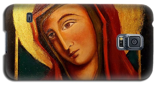 Holy Mary Galaxy S5 Case by Irena Mohr
