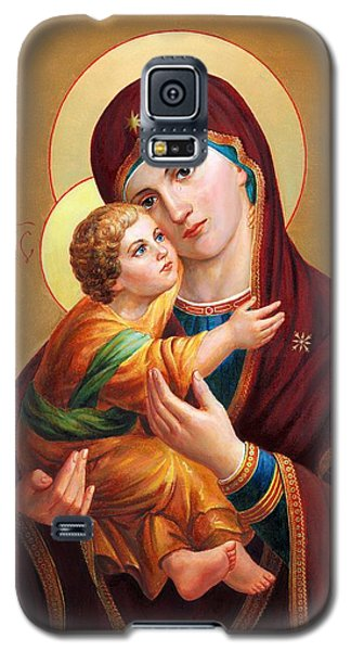 Holy Mother Of God - Blessed Virgin Mary Galaxy S5 Case
