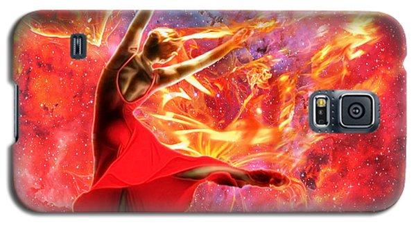 Holy Spirit Fire Galaxy S5 Case