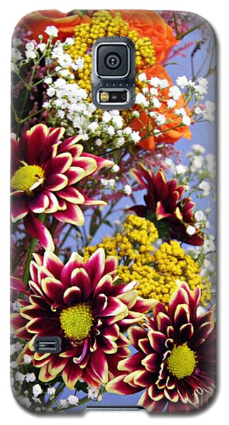 Galaxy S5 Case featuring the photograph Holy Week Flowers 2017 4 by Sarah Loft