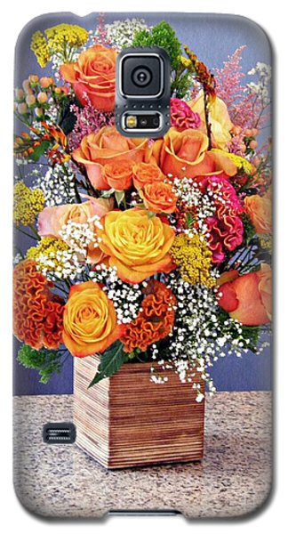Galaxy S5 Case featuring the photograph Holy Week Flowers 2017 by Sarah Loft