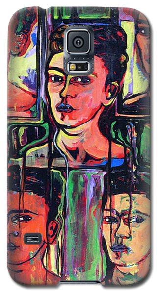Homage To Frida Kahlo Galaxy S5 Case