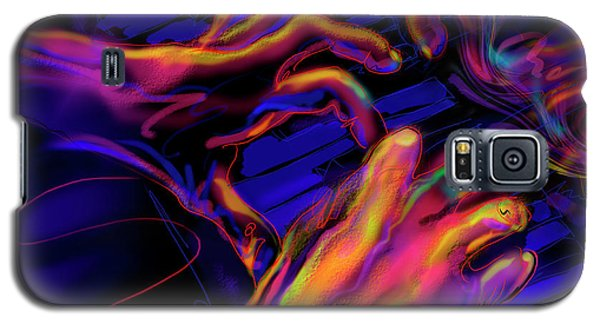 Galaxy S5 Case featuring the painting Home At Last by DC Langer