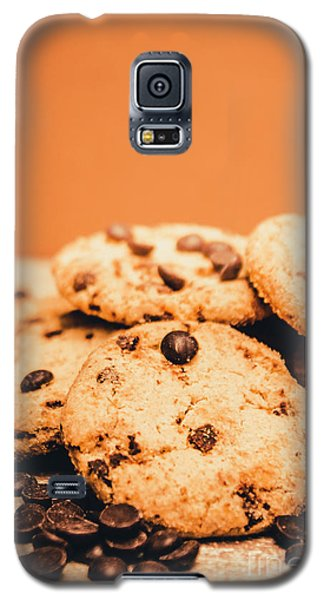 Home Baked Chocolate Biscuits Galaxy S5 Case