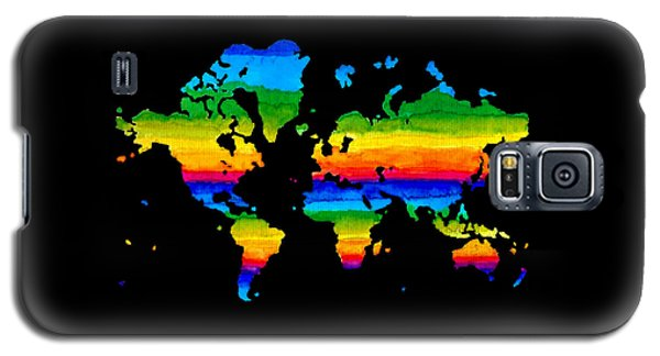 Home In Black Galaxy S5 Case by Sarah Krafft