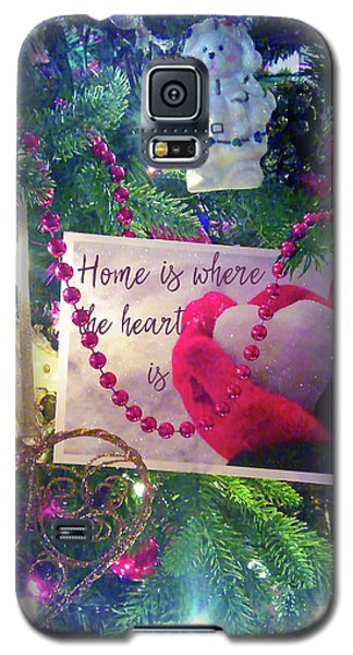 Home Is Where The Heart Is Galaxy S5 Case by Toni Hopper