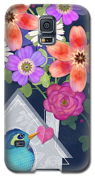 Home Is Where You Bloom Galaxy S5 Case