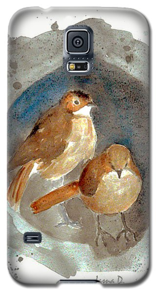 Galaxy S5 Case featuring the painting Home by Jasna Dragun
