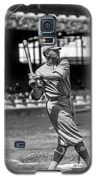 Babe Ruth Galaxy S5 Case - Home Run Babe Ruth by Jon Neidert