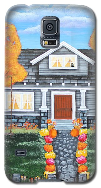 Home Sweet Home - Comes Autumn Galaxy S5 Case