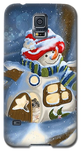 Galaxy S5 Case featuring the painting Home Sweet Home by Veronica Minozzi