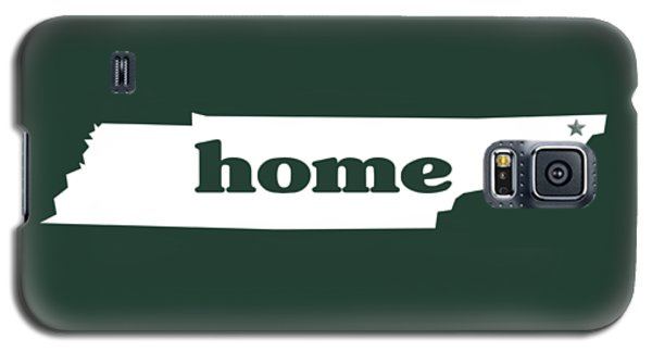 home TN on Green Galaxy S5 Case by Heather Applegate