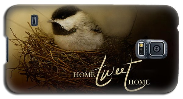 Home Tweet Home With Words Galaxy S5 Case by Jai Johnson