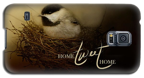 Home Tweet Home With Words Galaxy S5 Case