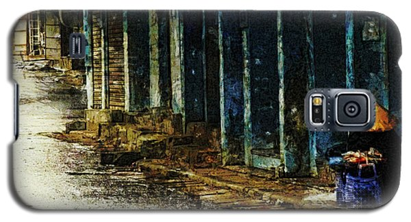 Galaxy S5 Case featuring the digital art Homeless In Hanoi by Cameron Wood
