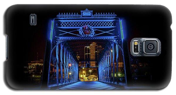 Homeless Winter Night On Wells Street Bridge - Fort Wayne Indiana Galaxy S5 Case