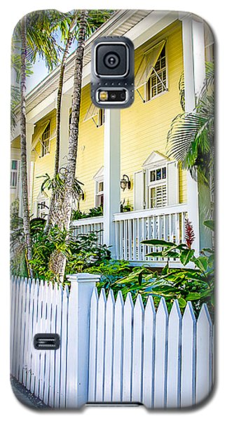 Galaxy S5 Case featuring the photograph Homes Of Key West 14 by Julie Palencia