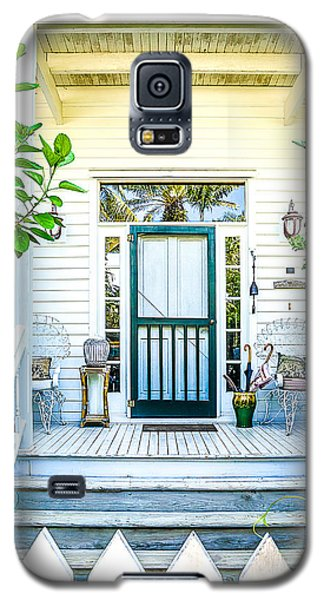 Galaxy S5 Case featuring the photograph Homes Of Key West 9 by Julie Palencia
