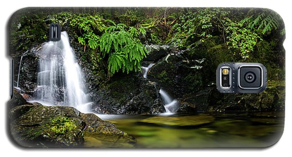 Homesite Falls Autumn Serenity Wide Galaxy S5 Case