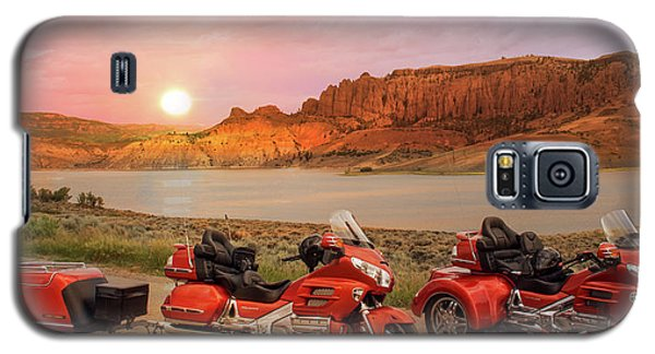 Honda Goldwing Bike Trike And Trailer Galaxy S5 Case
