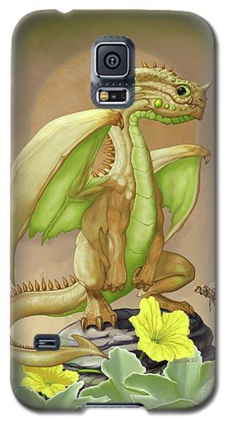 Galaxy S5 Case featuring the digital art Honey Dew Dragon by Stanley Morrison