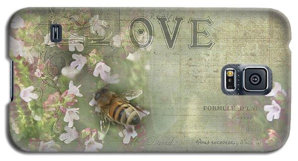 Honey Love Galaxy S5 Case by Victoria Harrington