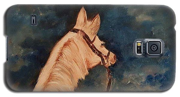 Honey Palomino Horse 28 Galaxy S5 Case