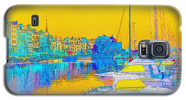 Honfleur Normandy France Galaxy S5 Case by Ann Johndro-Collins