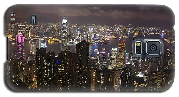 Hong Kong At Night Galaxy S5 Case