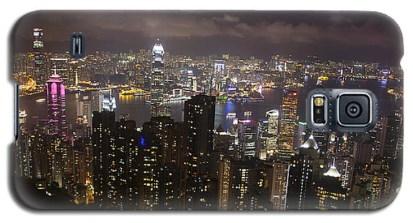 Hong Kong At Night Galaxy S5 Case