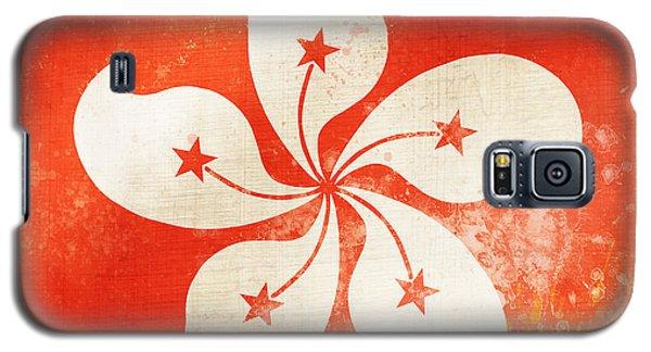 Hong Kong China Flag Galaxy S5 Case by Setsiri Silapasuwanchai